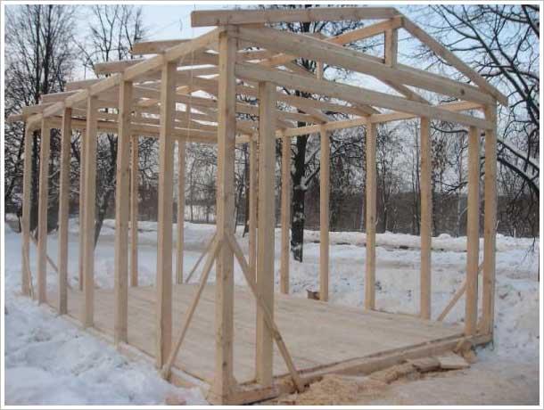 Гараж из бруса (46 фото): конструкции из дерева своими руками, чертежи деревянных гаражей, варианты построек из досок
