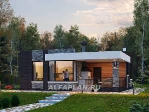 Проекты современных домов с плоской кровлей — владимир глазков