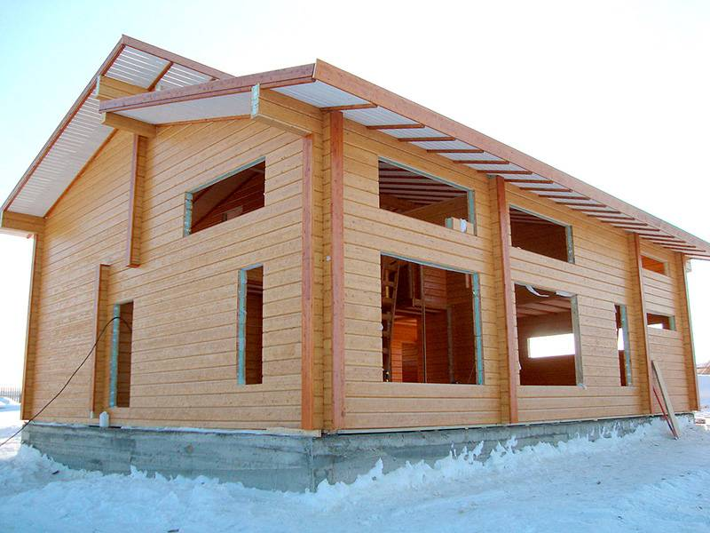 Особенности применения домокомплектов из клеёного бруса в строительстве