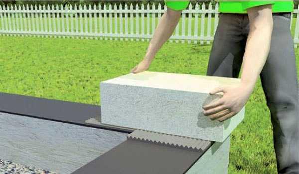Кладка газобетона зимой на клей: строим стены из газобетонных блоков в мороз