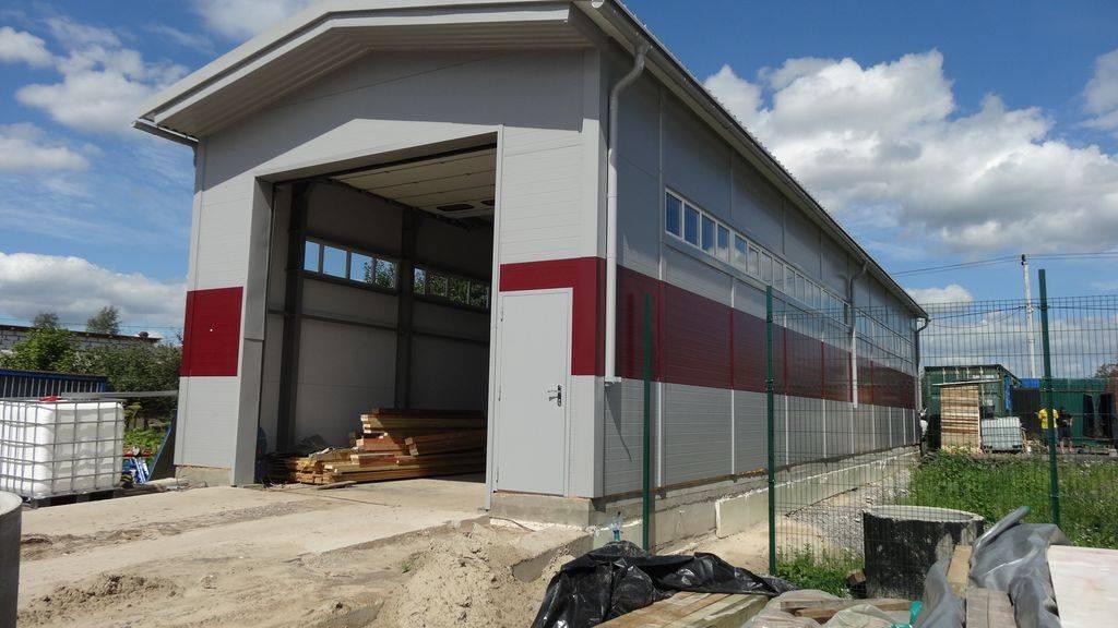 Cтроительство складов под ключ
