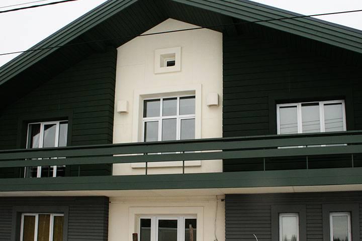 Виды фасадных панелей с утеплителем + технология утепления фасада частного дома