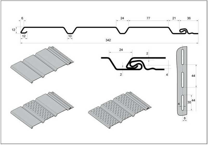 Какой длины и ширины бывает сайдинг виниловый и металлический   montazh saidinga
