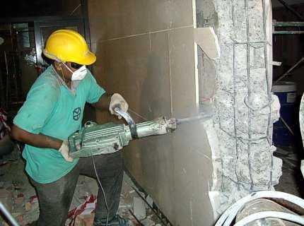 Резка бетона без пыли: как пилить болгаркой своими руками, инструмент