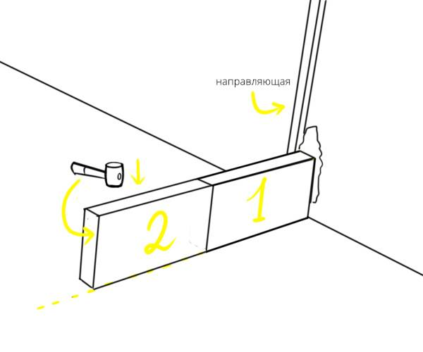 Кладка первого ряда газобетона на фундамент: важный этап возведения стен