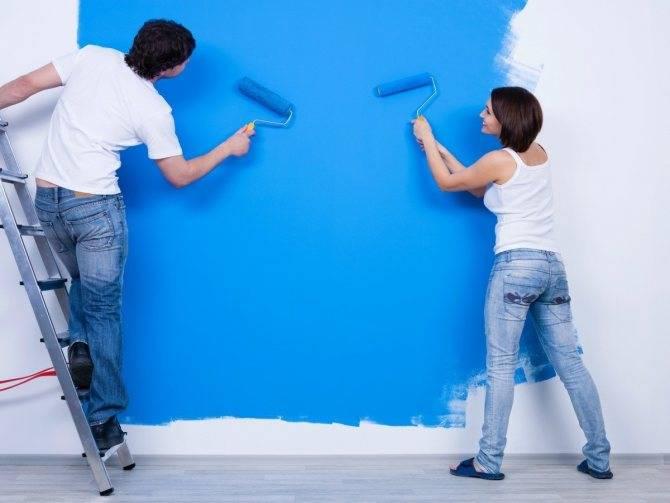 Фасадная акриловая краска для наружных работ: какие есть виды и их характеристики | в мире краски