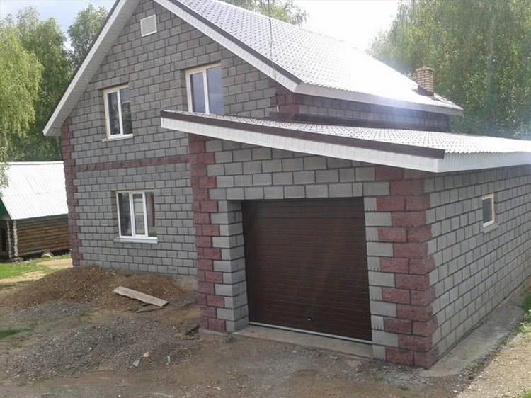 Дом из шлакоблока: особенности, плюсы и минусы, строительство