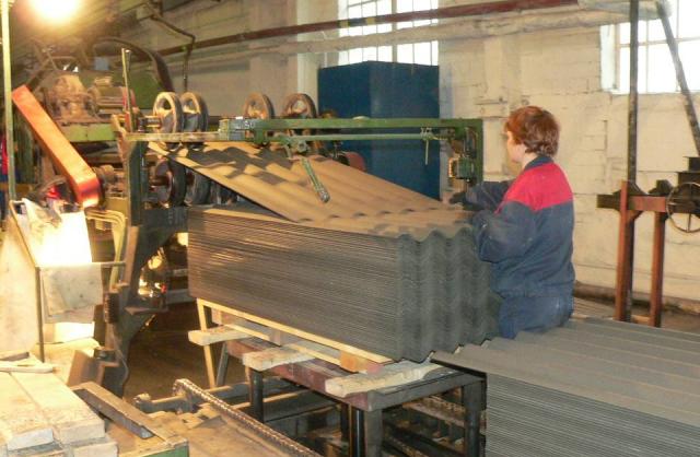 Металлошифер — фото, размеры, вес