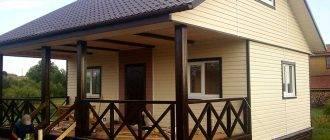 Особенности строительства зимнего дома из бруса для постоянного проживания