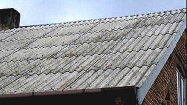 Как сделать ремонт шиферной крыши своими руками