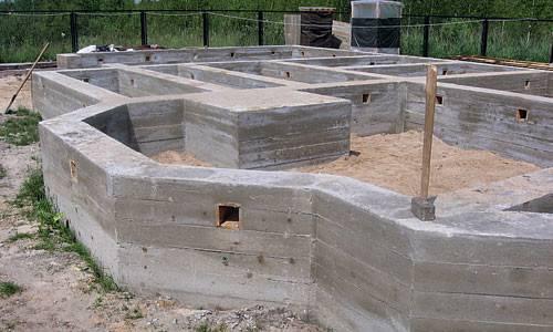 Мелкозаглубленный ленточный фундамент на глине: достоинства и возведение
