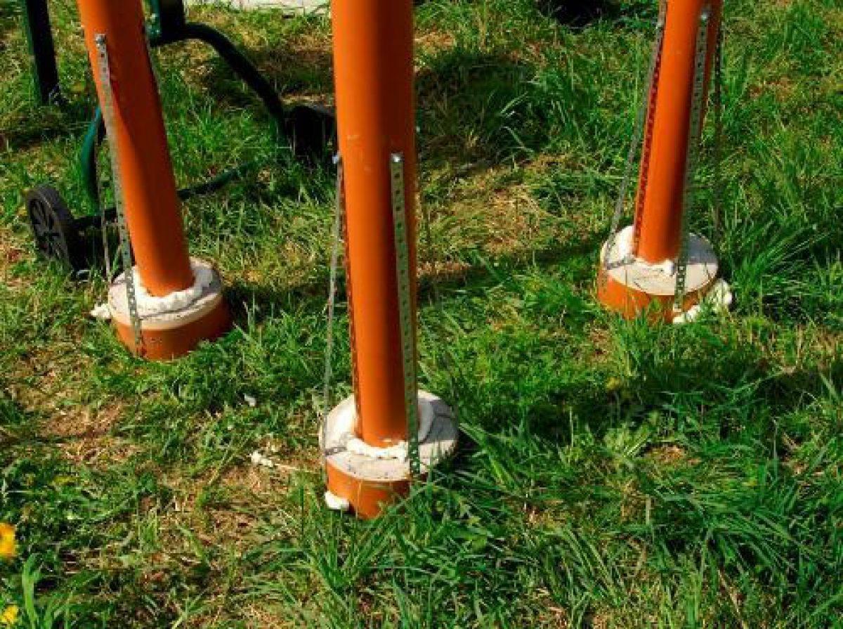 Столбчатый фундамент из пвх труб