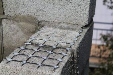 Укрепление конструкций: базальтовая сетка кладочная – способы применения для газобетона и кирпичного сооружения