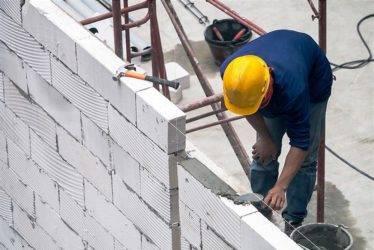 Правила и рекомендации кладки стен из газосиликатных блоков
