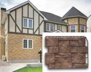 Фасадные панели для наружной отделки дома: разновидности и фото