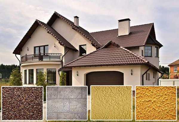 Декоративная фасадная штукатурка: виды по составу и фактуре, технология нанесения