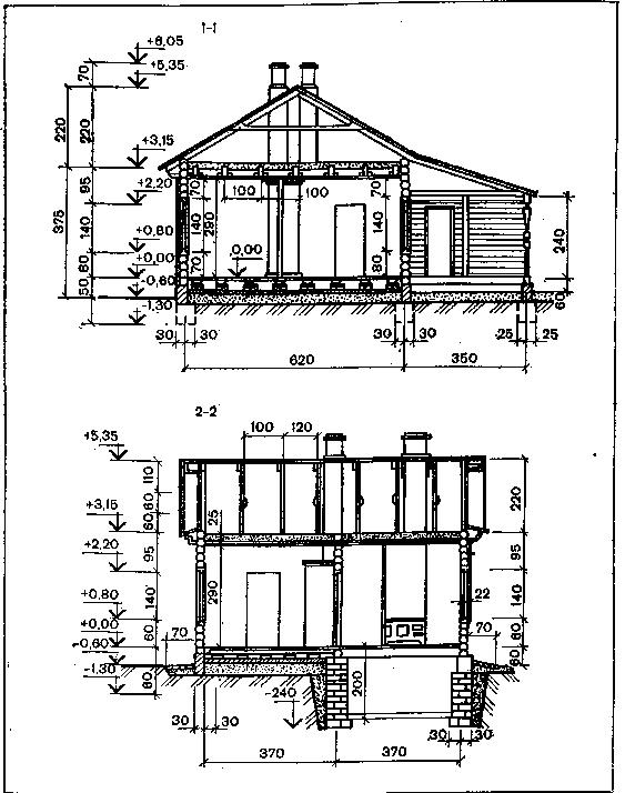 Какой размер бруса выбрать для строительства дома