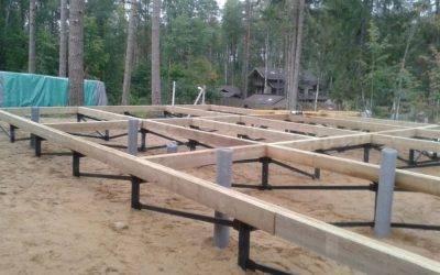 Когда необходима замена фундамента под деревянным домом на винтовые сваи, сколько это стоит и какой порядок работ?