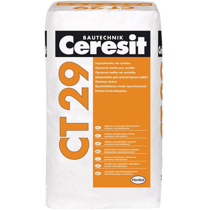 Ct 60 / ct 63 / ct 64. акриловые штукатурки - ceresit