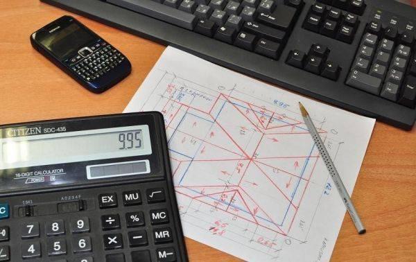 Онлайн калькулятор расчета кровли или как самому рассчитать кровельное покрытие для мансардной крыши?
