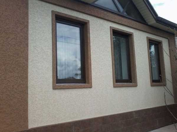 Штукатурка фасада дома: технология отделки, виды штукатурок и цены