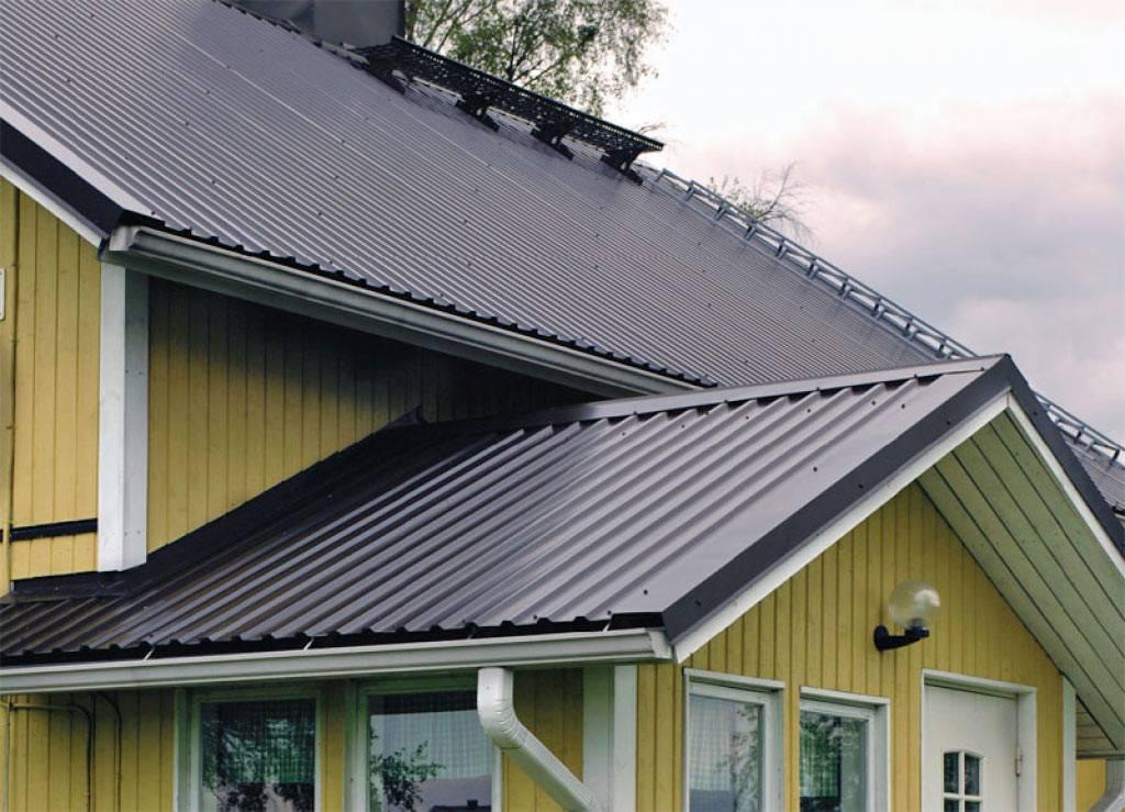Марки профнастила для крыши