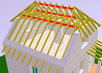 Полувальмовая крыша: конструктивные особенности, технология сооружения