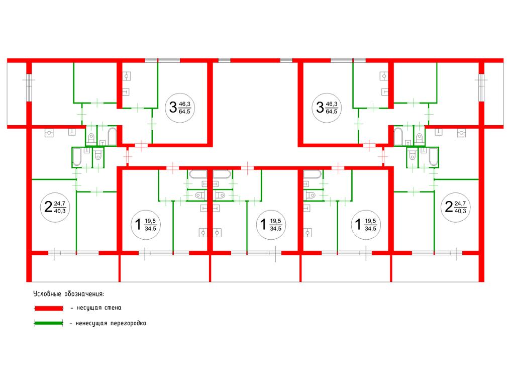 Толщина кирпичной перегородки-подбор оптимальной толщины кладки