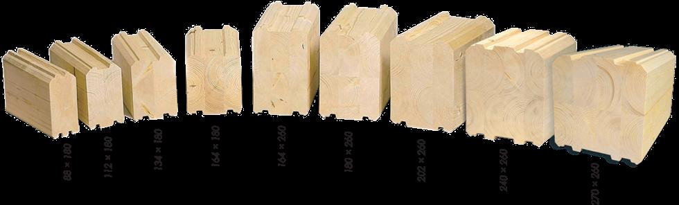 Сечение бруса. стандартные размеры деревянного бруса