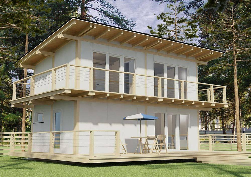 Односкатная крыша — это оригинальный, экономичный и красивый выбор