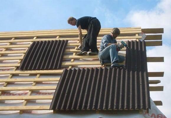 Крыша из ондулина: 105 фото подробного описания покрытия
