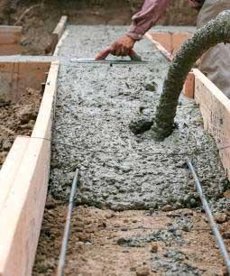 Какая марка бетона нужна для ленточного фундамента частного дома, правила выбора