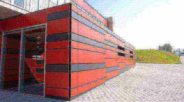 Алюминиевые композитные панели для фасада: виды, размеры, технология монтажа
