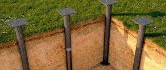 Рекомендации по выбору диаметра свай под фундамент для частного строительства