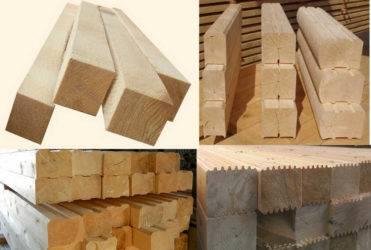 Профилированный брус: плюсы и минусы при строительстве