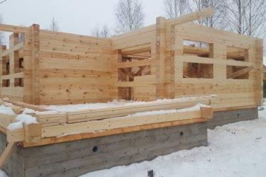 Технология строительства дома из профилированного бруса ⋆ domastroika.com