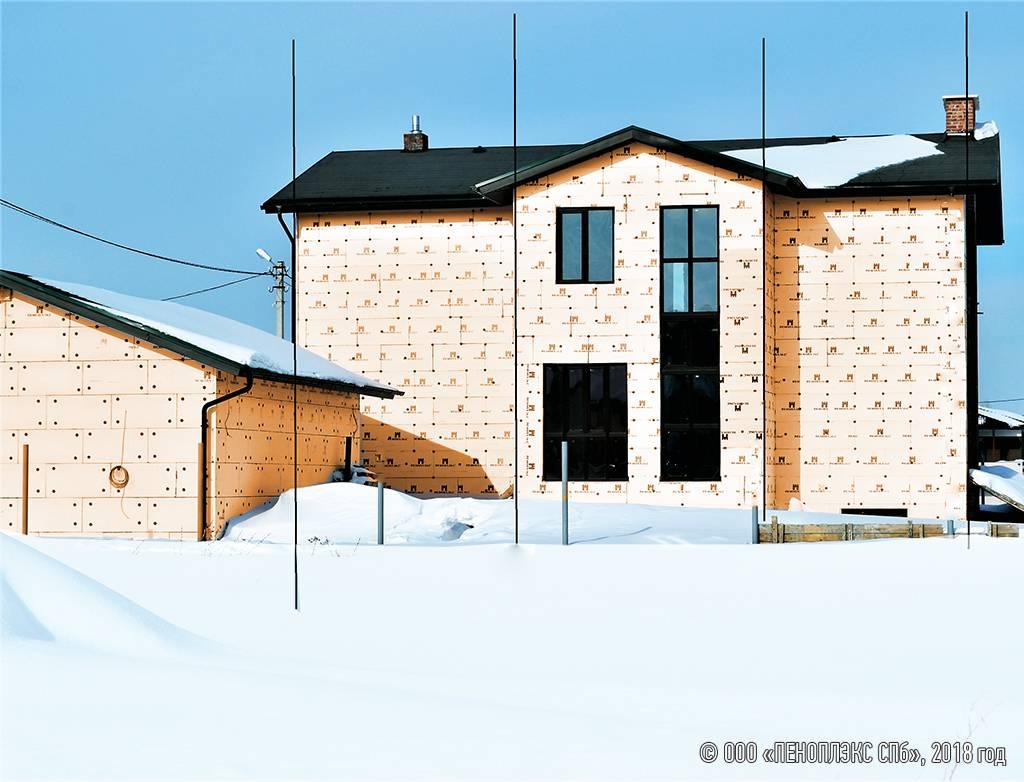 Чем утеплить дом из шлакоблока снаружи: выбор подходящего утеплителя