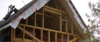 Отделка и подшивка карниза крыши профнастилом своими руками (видео и фото)