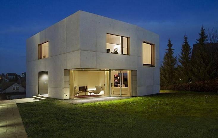 Дома из бетонных и железобетонных панелей, технология, достоинства.   домовой   дизайн интерьера и ремонт