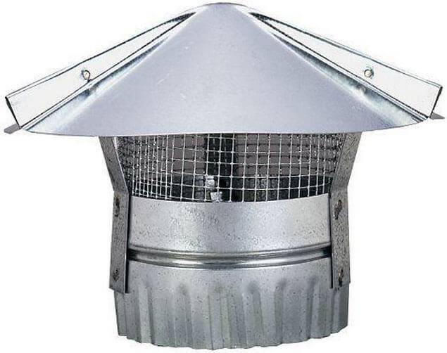 Зонт на трубу дымохода и вентиляции своими руками: монтаж, изготовление, выбор элемента и многое другое