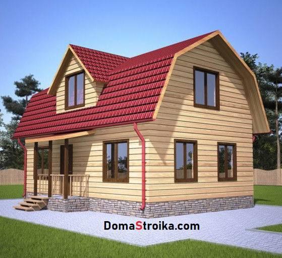 Дизайн мансарды с двускатной крышей: фото планировки, схем, а так же проект мансардной крыши и высота мансардного этажа