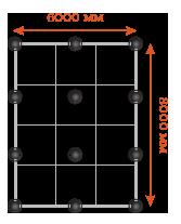 Особенности свайного фундамента для дома 6х6 и стоимость монтажа под ключ