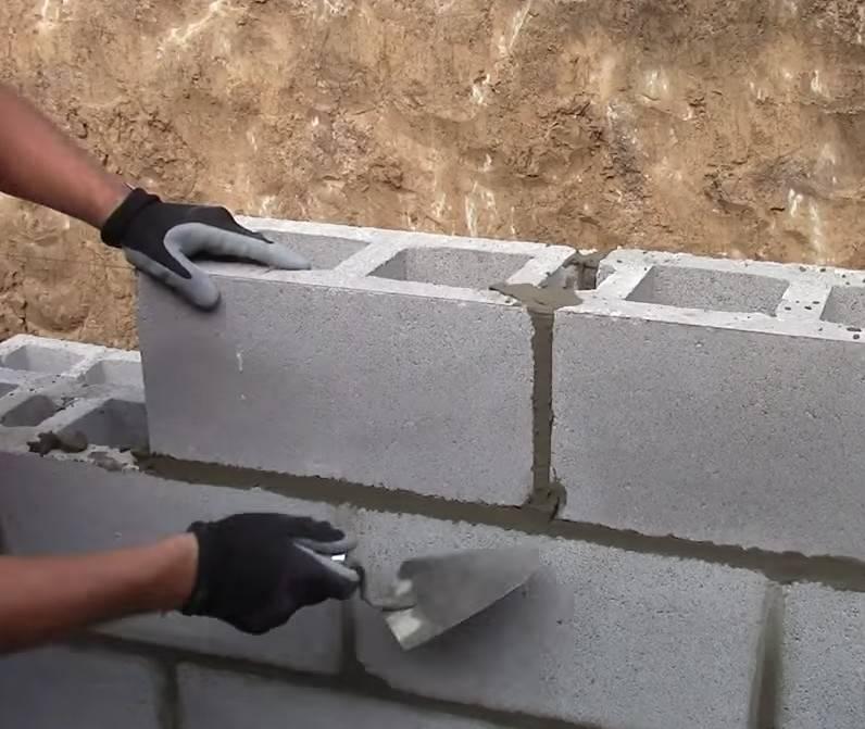 Расчет блоков по длине стены. калькулятор расчета строительных блоков