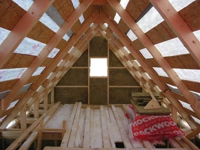Чем утеплить крышу мансарды изнутри