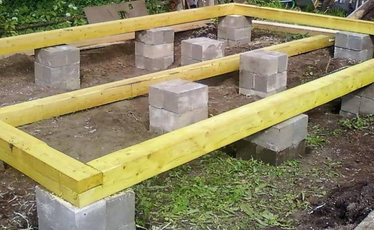 Фундамент из фбс: плюсы и минусы, устройство, расчет и размеры блоков