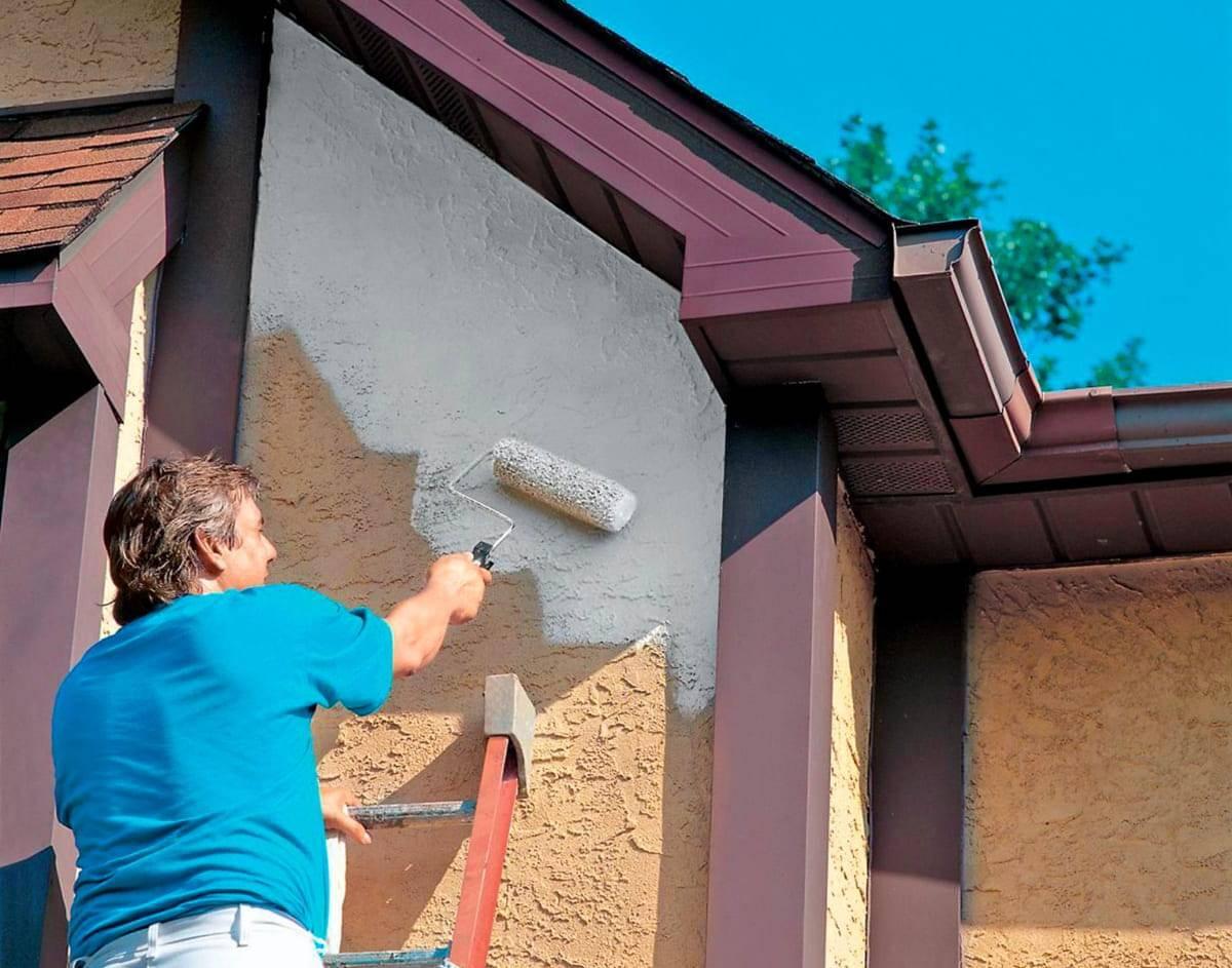 Перхлорвиниловая фасадная краска – особенности, технические характеристики