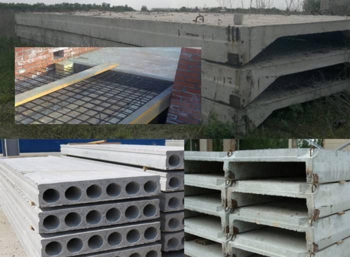 Технология монтажа плит перекрытия на фундамент