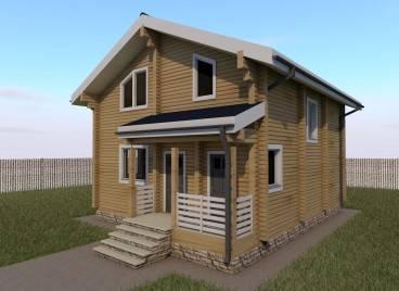 Как построить брусовой дом своими руками: подготовка бруса и технология сборки