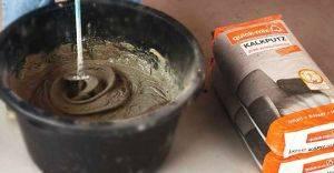Цементная штукатурка для наружных работ: фасадная, песчаная