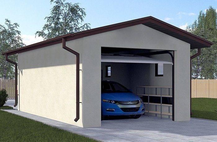 Особенности готового комплекта гаража из СИП-панелей: что входит, цены, плюсы и минусы